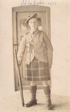 Seaforth Highlander 1919