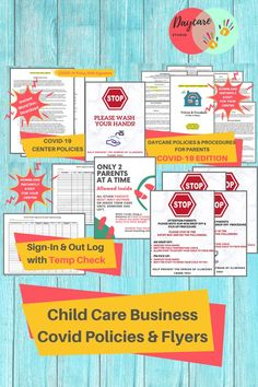 Every covid form and template you need for your child care business. Keep your kids and families safe! Starting A Daycare, Daycare Forms, Word Doc, Childcare, Templates, Words, Business, Families, Stencils
