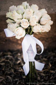 Blush roses with diamanté bouquet. www.lindavos.co.za Blush Roses, Bridal Bouquets, Engagement Session, Table Decorations, Christmas, Pictures, Photography, Wedding, Bride Bouquets