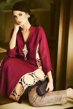 Formal Party wear and Casual wear Long Shirts For Girls Pakistani Girl, Pakistani Outfits, Indian Outfits, Indian Attire, Indian Wear, Pakistani Kurta Designs, Casual Wear, Casual Dresses, Fashion Dresses