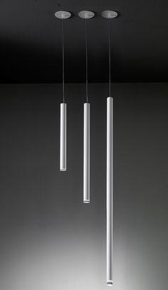 Lighting Design // linear pendant light by UsonaHome.com - Pendant 03727