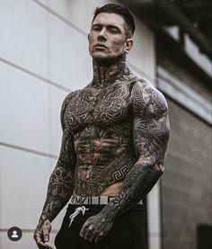 Hot Guys Tattoos, Boy Tattoos, Side Tattoos, Body Art Tattoos, Sleeve Tattoos, Tattoo Samples, Gangster Tattoos, Full Body Tattoo, Inked Men
