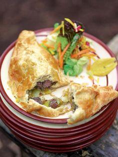 Early autumn Cornish pasties | Jamie Oliver | Food | Jamie Oliver (UK).  Craving these big time!