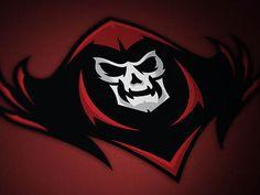 MK Phantoms by Andy Hall #logo | American Sport Theme Logo
