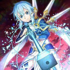 Sinon Ggo, Kirito Asuna, Anime Art Girl, Manga Art, Anime Manga, Anime Sword, Sao Anime, Sword Art Online Wallpaper, Accel World