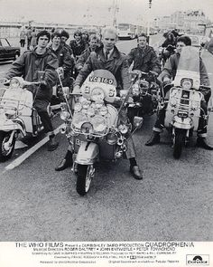 A shot from the film Quadrophenia with Sting