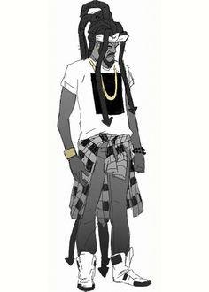 Black Man in the Future Shit