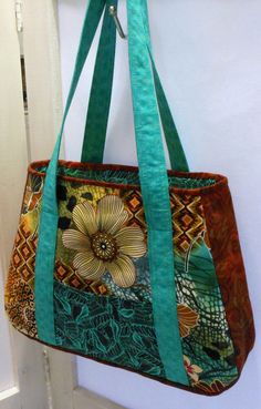 Multi-fabric purse