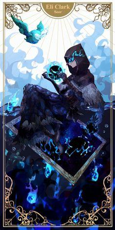 identity v eli Character Concept, Character Art, Character Design, Dnd Characters, Fantasy Characters, Manga Art, Anime Art, Id Identity, Illustration