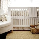 Neutral Nursery Bedding, Baby Bedding White, White Baby Crib Bedding, White Baby Bedding Set