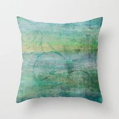 Colorful Throw Pillow Cover Abstract pillow by HLBhomedesigns