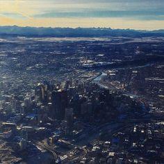 Bye little #Calgary #upandaway #eyeranititravel