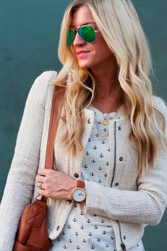 Transitioning to your fall wardrobe? This @gorjanagriffin chevron necklace still works, no matter the season.
