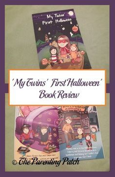 Positive book review of 'My Twins' First Halloween' by Paris Morris.
