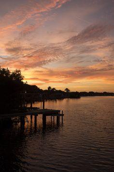 Sunset in St. Petersburg, Florida