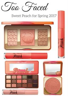 Too Faced Sweet Peach for Spring 2017 is showing on the Sephora.com and Ulta.com site 12/15/16