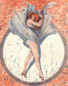 Illustration by Vald 'Es For Le Sourire 1930s