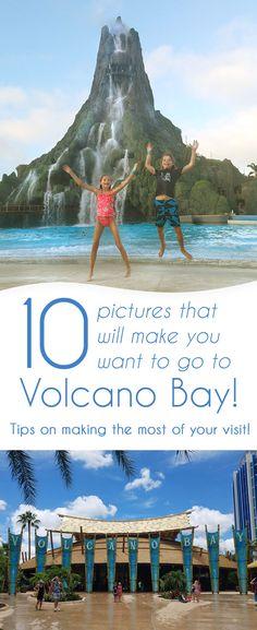 Volcano Bay is open for business at Universal Orlando in Florida.  #VolcanoBay #WaterPark #Orlando #ad