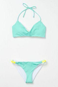 mint bikini from anthropologie 68.00