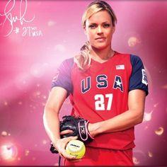 Jennie Finch fav. softball player