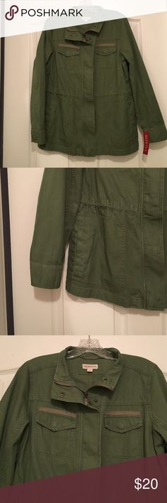 Olive Green Merona utility jacket NWT Brand new with tags olive green utility jacket- Merona Merona Jackets & Coats Utility Jackets