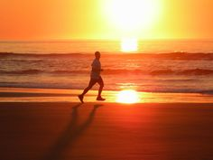 Early moring run on #Ogunquit beach, in #Maine.  www.ogunquitbeachinn.com