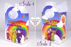 Personalised Teletubbies Party Bags - Personalised Invite
