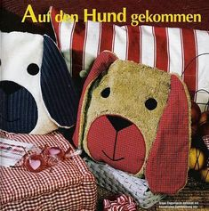 ARTE COM QUIANE - Paps,Moldes,E.V.A,Feltro,Costuras,Fofuchas 3D: molde almofada cachorrinho inédita