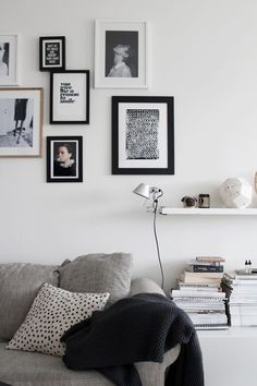 Picture wall inspiration from J. Levau blog