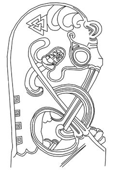 Beds and fragments of beds have been found in two archaeological sites from the Viking Age: Oseberg and Gokstad in Norway. The Oseberg find is dated to circa 850 and Gokstad circa 900.  This is a drawing of the bedposts.