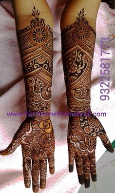 Browse the latest Mehndi Designs Ideas and images for brides online on HappyShappy! We have huge collection of Mehandi Designs for hands and legs, find and save your favorite Mehendi Design images. Dulhan Mehndi Designs, Wedding Mehndi Designs, Unique Mehndi Designs, Mehndi Design Pictures, Arabic Mehndi Designs, Beautiful Henna Designs, Latest Mehndi Designs, Beautiful Mehndi, Henna Tattoo Designs