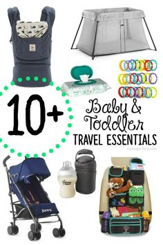 Travel Essentials You Need When Traveling with Babies & Toddlers. Choosing the proper gear when heading out is key. These products can make it even easier.
