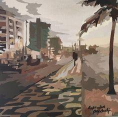 Arpoador - Acrylic on canvas - by Adri Barbieux