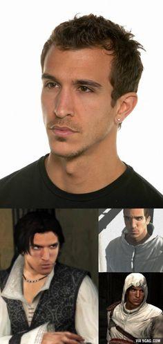 Meet Francisco Randez, the face of Altair, Ezio and Desmond.