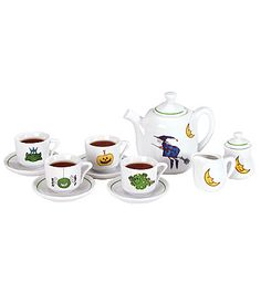 Monstrously Cute Halloween Tea Set