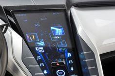 Futuristic Car Interior, Nissan's Friend-ME Concept Car Brings Infotainment To A Focus