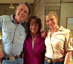 Lots of giggling & acting up on last day sn5 #Longmire 7/1/16