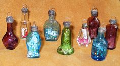 Mini Bottle Charms by perpetualplum, via Flickr