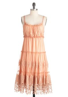 """""""So Fondant of You Dress"""" on Modcloth. I think it's safe to say that """"Ryu"""" has become one of my favorite designers, thanks to this site. Retro Vintage Dresses, Vestidos Vintage, Vintage Inspired Dresses, Mod Dress, Dress Skirt, Dress Up, Ryu Clothing, Fairytale Fashion, Fairy Dress"""