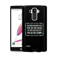 LG G Stylo 2 Dancing in the Rain Chalk Slim Case