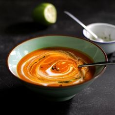Pureed tomato adds luscious body to this Thai-classic.  Seriously addictive.