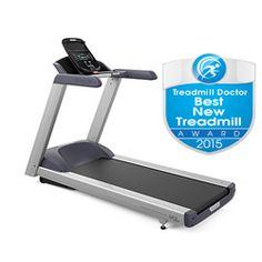 Precor TRM 445 Treadmill Review - Our Best New Treadmill award winner! One of the best home treadmills on the market and priced to let you know that you are buying one of the best! New console design is stellar.