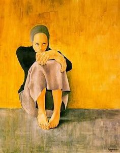 Montserrat Gudiol born in Barcelona in 1933. She is the daughter of the architect and art historian Gudiol Ricart. In 1950, she studied restoration of old paintings and focuses specifically on painting on wood and paper.