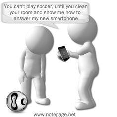 Brilliant Tech Savy Kids Cartoon Phone Jokes, Play Soccer, Cartoon Kids, Text Messages, Smartphone, Cartoons, Internet, Tech, Website