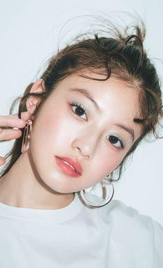Makeup Inspo, Makeup Inspiration, Beauty Makeup, Hair Makeup, Makeup Ideas, Eyebrow Images, Korean Eye Makeup, Asian Model Girl, Beautiful Japanese Girl