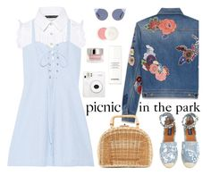 """""""Picnic in the Park"""" by sweet-designs ❤ liked on Polyvore featuring Marissa Webb, Solid & Striped, Yves Saint Laurent, Kayu, Valentino, Chanel, Christian Dior, By Terry and Fendi"""