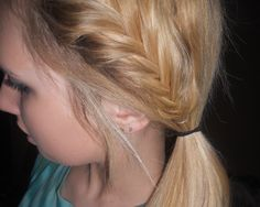 Side french fishtail