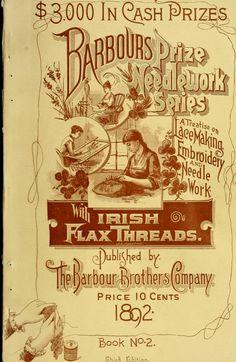 Irish Lace-Making, Embroidery & Needlework (1892)