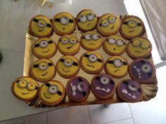Minion biscuits for my little Chiara