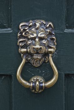 Lion\u0027s Head Door Knocker Amersham Peter Cook UK & Lion Door Knocker | Lion door knocker Lions and Doors Pezcame.Com